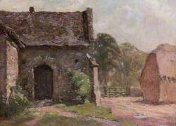 Part of the Old Tithe Barn, Abingdon, Oxfordshire
