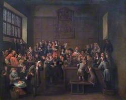 The Election in the Guildhall of Oxford, 14 March, 1688 (The Attempt by James II to Force Oxford City Council to Elect His Nominee as Alderman)