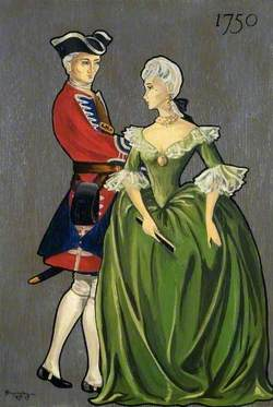 Soldier and Lady of 1750