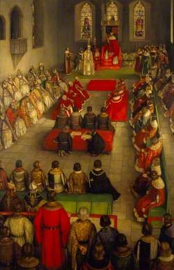 The Parliament of Henry VI at Reading Abbey, 1453