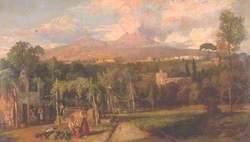 A Neapolitan Landscape, Italy