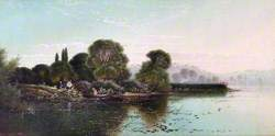 At Hurley-on-Thames, Berkshire