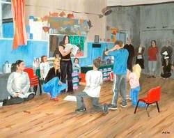 Boxford Masques Rehearsal