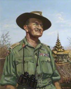 General William Slim (1891–1970), General Officer Commanding, 14th Army (1942–1945)
