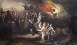 William III, The Prince of Orange (1650–1702), Receiving the Helm of State