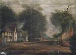 Village Street with an Inn, Crowmarsh, Oxfordshire