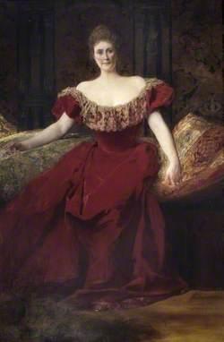 Henrietta Maria Walter (1843–1935), Wife of Arthur Fraser Walter of Bearwood, High Steward of Wokingham (1895–1910)