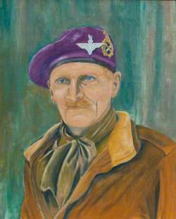 Field Marshal Bernard Montgomery as Colonel Commandant