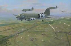Dakotas Dropping on Renkum Heath – First Day of the Battle of Arnhem, 17th September