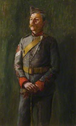 Colour Sergeant W. T. Wright in Volunteer Uniform