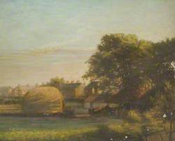 Windmill Avenue with Haystack