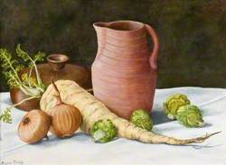 Still Life with Earthernware Jug