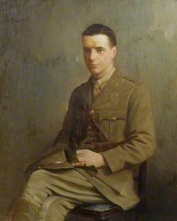 William George Poulton (1894–1985), in Uniform