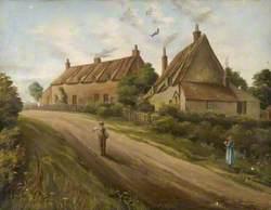 Cottages at Clapham, Bedfordshire
