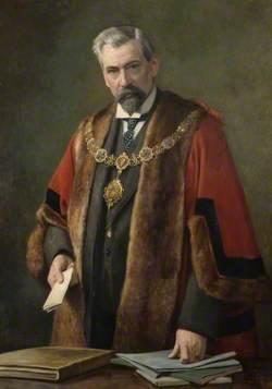 Alderman William Potter Spalding, JP, Mayor of Cambridge (1908–1910)