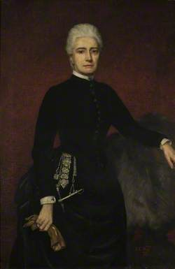 Blanche Egerton (1832–1894), Wife of the 7th Earl of Sandwich