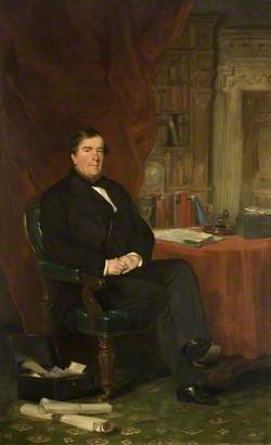 The Right Honourable General Jonathan Peel (1799–1879), MP for Huntingdon and Godmanchester, Late Secretary of State for War