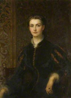 Georgina McKerrell (1850–1935), Wife of Sir Claude Champion de Crespigny, 4th Bt