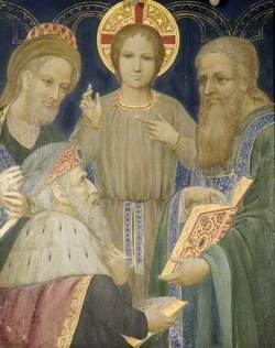 Jesus with the Elders in the Temple*
