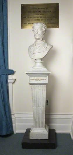 Sir John Blencowe Robinson (1830–1877), Baronet