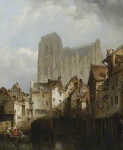 Church of St Wulfram, Abbeville, France
