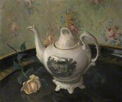 Tea Rose, Still Life with a Teapot