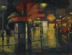Rain at Night, Town Centre