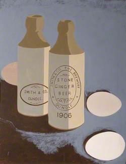 Still Life with Ginger Beer Bottles