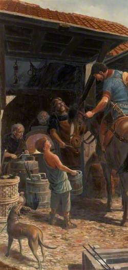 Interior of a Roman Workshop