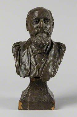 Bust of a Bearded Man*