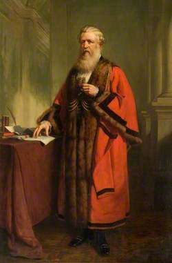 Alderman Richard Young (1809–1871), JP, DL, Mayor of Wisbech (1858–1863), MP for Cambridgeshire (1865–1868), Sheriff of London and Middlesex (1871)