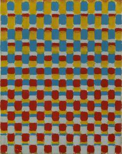 Movement with Red, Yellow, Blue and Grey
