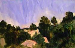 Landscape, Aix-en-Provence
