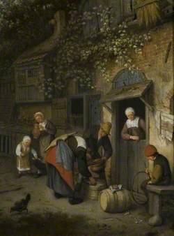 The Milk Seller