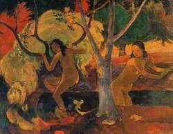 Bathers in Tahiti