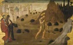 Saint John the Baptist Leaving for the Desert