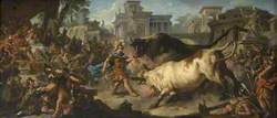 Jason Taming the Bulls of Aeëtes