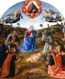 The Adoration of the Child Jesus