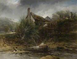 A Watermill near Totnes, Devon