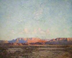 The Karroo, Cape of Good Hope at Evening