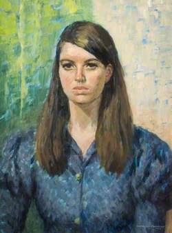 Portrait of a Girl in Blue
