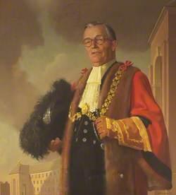 Alderman Harry Crook (1889–1970), JP, Lord Mayor of Bristol (1955–1956), Founder and Chairman of the Kleen-E-Zee Brush Company Ltd