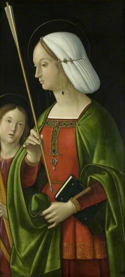 Withypool Triptych, Saint Ursula