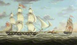 Ship 'William Miles' of Bristol