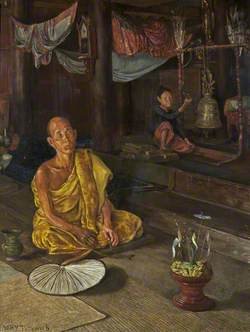 A Burmese Priest: The Call to Prayer