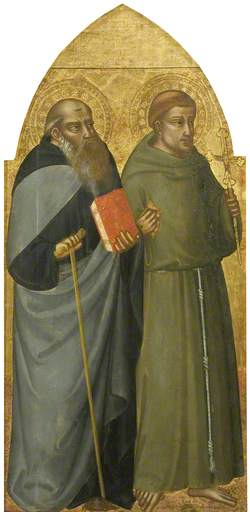 Saints Francis and Anthony Abbot