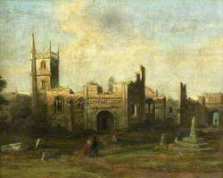 St James's Church and Priory, 1630
