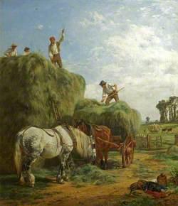 Haymaking at Kings Weston