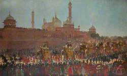The State Entry into Delhi