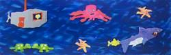 Sea Creatures and Submarine